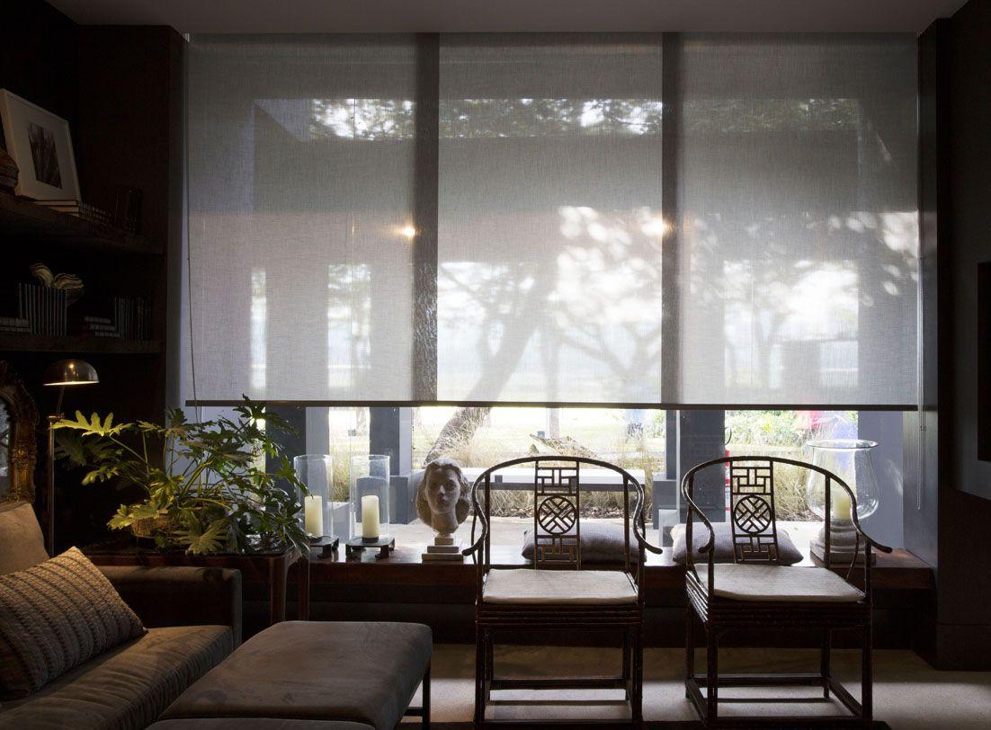 Casa cor 2014 cortina rolo luxaflex por arthur decor - Cortinas interiores casa ...