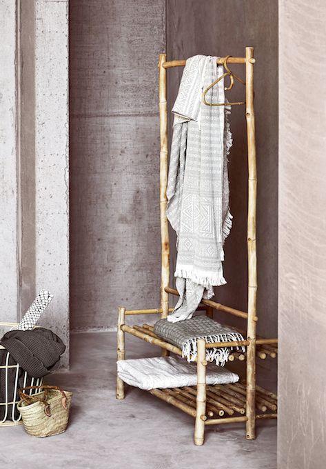 Dressingmeubel in bamboe -