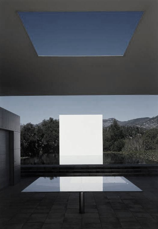 Jim Jennings +James Turrell & Tom Leader. The Pavilion, Pool House and Pool. Skyscape.