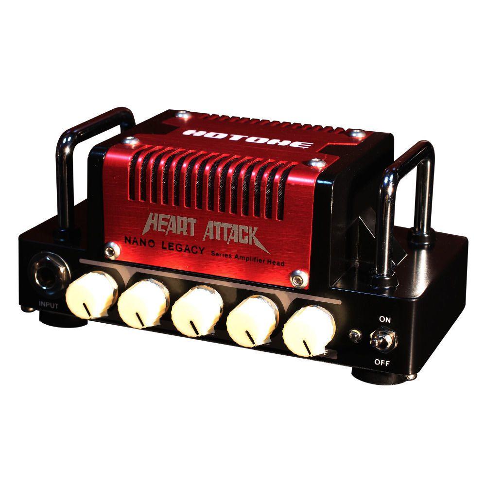 Hotone Heart Attack Guitar Amp Head Nano Legacy Mini Amplifier Compact
