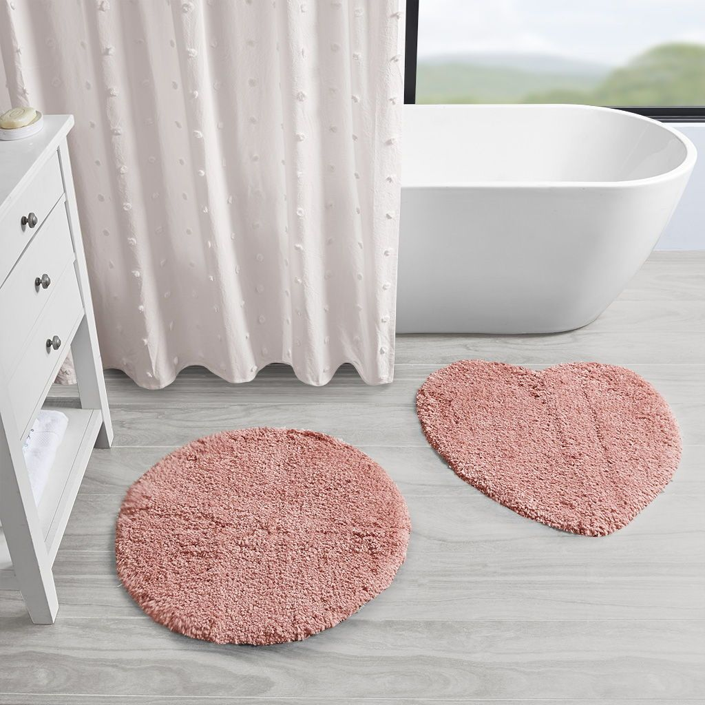 Complement Your Decor With The Soft Casual Comfort Of 510 Design S Emily 100 Polyester Tufted Solid Rug 2 Piece Set Bath Rugs Sets Rug Sets Bathroom Rug Sets [ 1024 x 1024 Pixel ]
