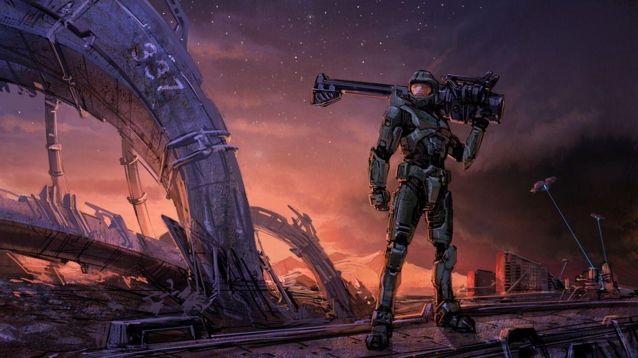 Halo Fanart Wallpaper The Art Of Wallpapers Halo Halo Spartan Halo 3