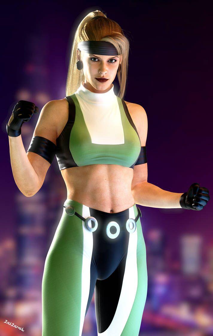 Sonya Blade Mk3 By Zabzarock Sonya Blade Mortal Kombat