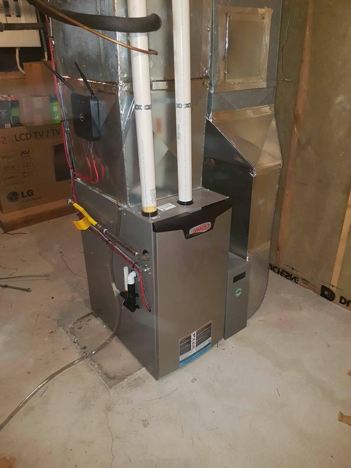 Box Media Air Filtration Furnace installation, High