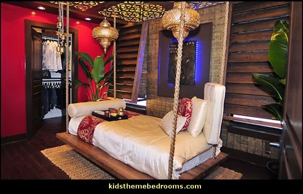 Exotic Theme Bedroom Decorating Ideas Asian Tropical Morroccan
