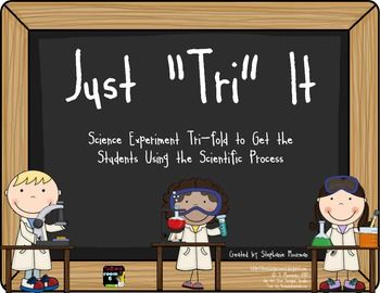 The Science Of Getting Kids Organized >> Science Experiment Trifold Fourthgradefriends Com Teaching