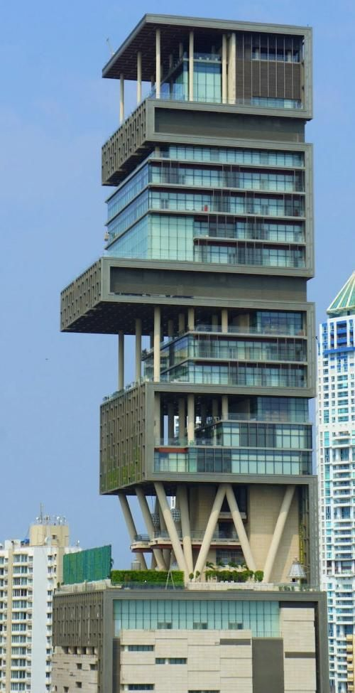 Antilia 1 billion the most expensive residence of the world is located in
