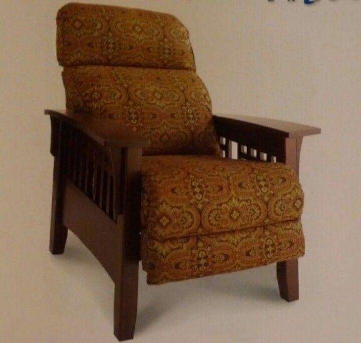 Lazyboy Eldorado Reclining Mission Chair Eames Rocking Chair