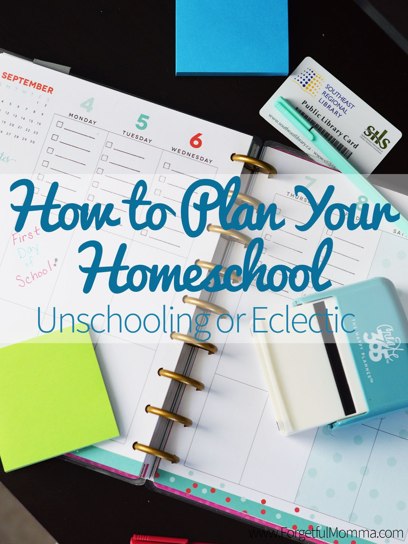 How to plan your homeschool unschooling or eclectic