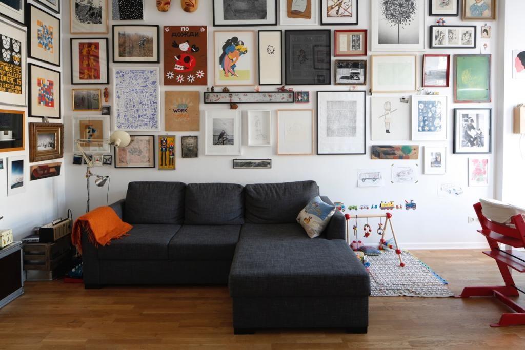 geraumiges wohnzimmer bilderwand inspirierende images der bfbadaecacbccb