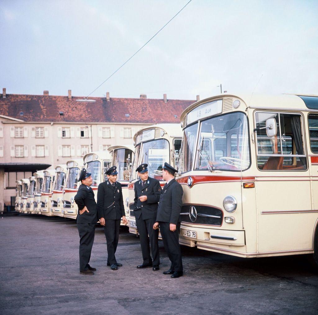 1971 mercedes benz o302 bus daimler ag de auto mercedes benz de - Mercedes Buses Mercedes Benzbuses