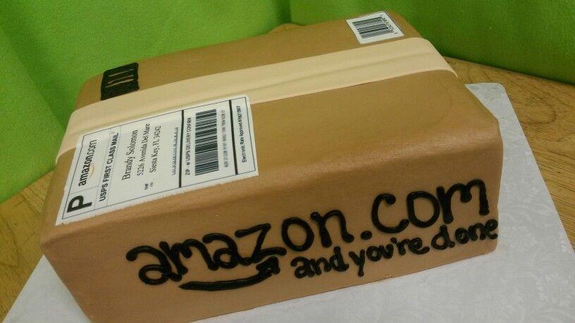 Amazon box cake box cake cake amazon box