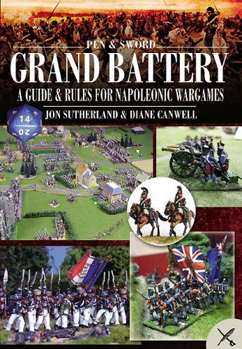 #PopularKidsToys Just Added In New Toys In Store!Read The Full Description & Reviews Here - Grand Battery: Guide and Rules for Napoleonic Wargames - How would you have fared as one Napoleon's marshals, or in command of a division of redoutable British redcoats under Wellington? Grand Battery offers you the chance to find out. This book includes all the rules you need to play miniature wargames set in the Napoleonic Wars, plus plenty of useful background information you