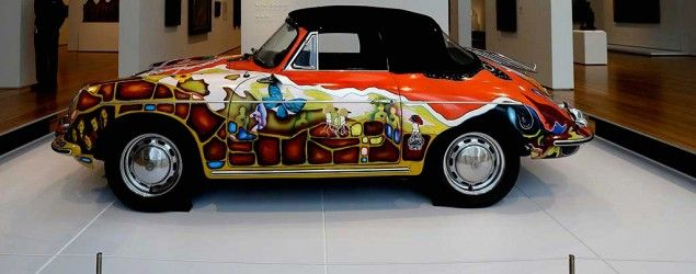 Janis Joplin's iconic and wildly psychedelic 1964 ride has graced the Rock and Roll Hall of Fame for 20 years. (AP)