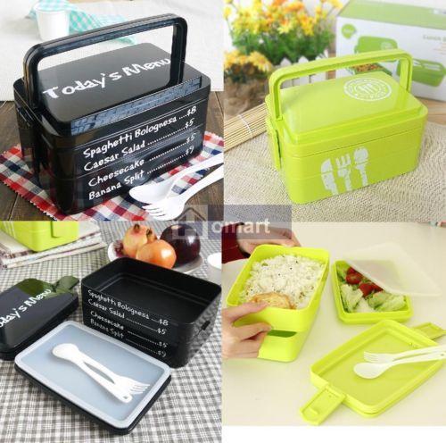 3-Layers-Lunch-Box-Bento-Big-Capacity-w-Fork-Spoon-Portable-Microwave-OK