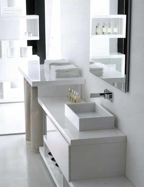 un elegante locale da adibire a lavanderia arredamento