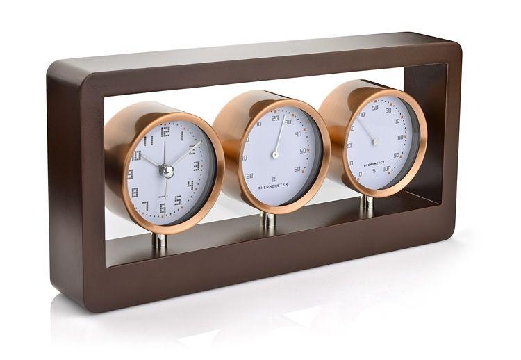 Stacja Pogody Zegar Higrometr Termometr 4975786634 Oficjalne Archiwum Allegro Clock Mantel Clock Vbs