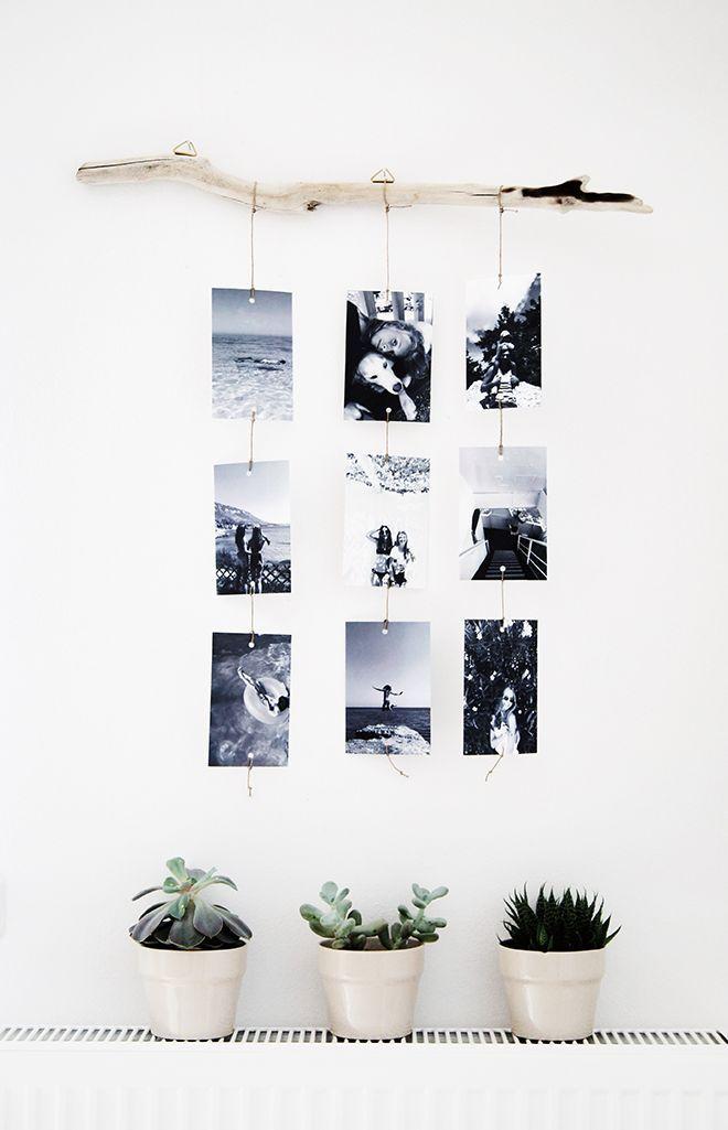 10 id es originales pour mettre en sc ne vos photos de. Black Bedroom Furniture Sets. Home Design Ideas