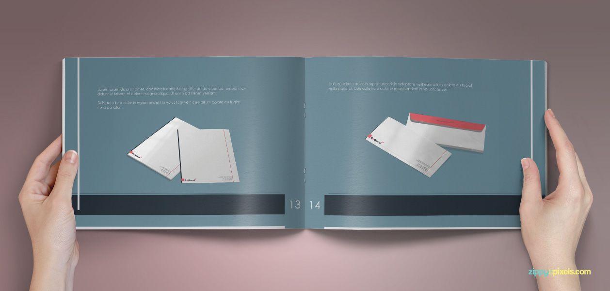 BrandBook - Classic Branding Guidelines Template | Brand book ...