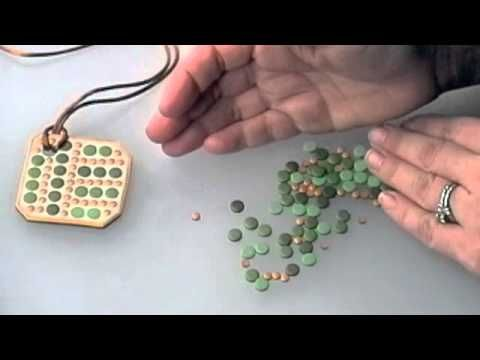 Free Polymer Clay Projects: Mosaic Pendant Pt. 1 - YouTube -  3 videos - thank you!