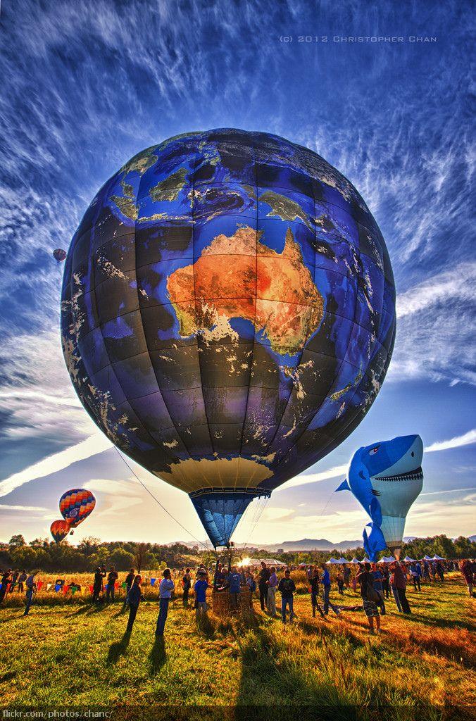 The Great Reno Hot Air Balloon Race 2012 Hot air balloon