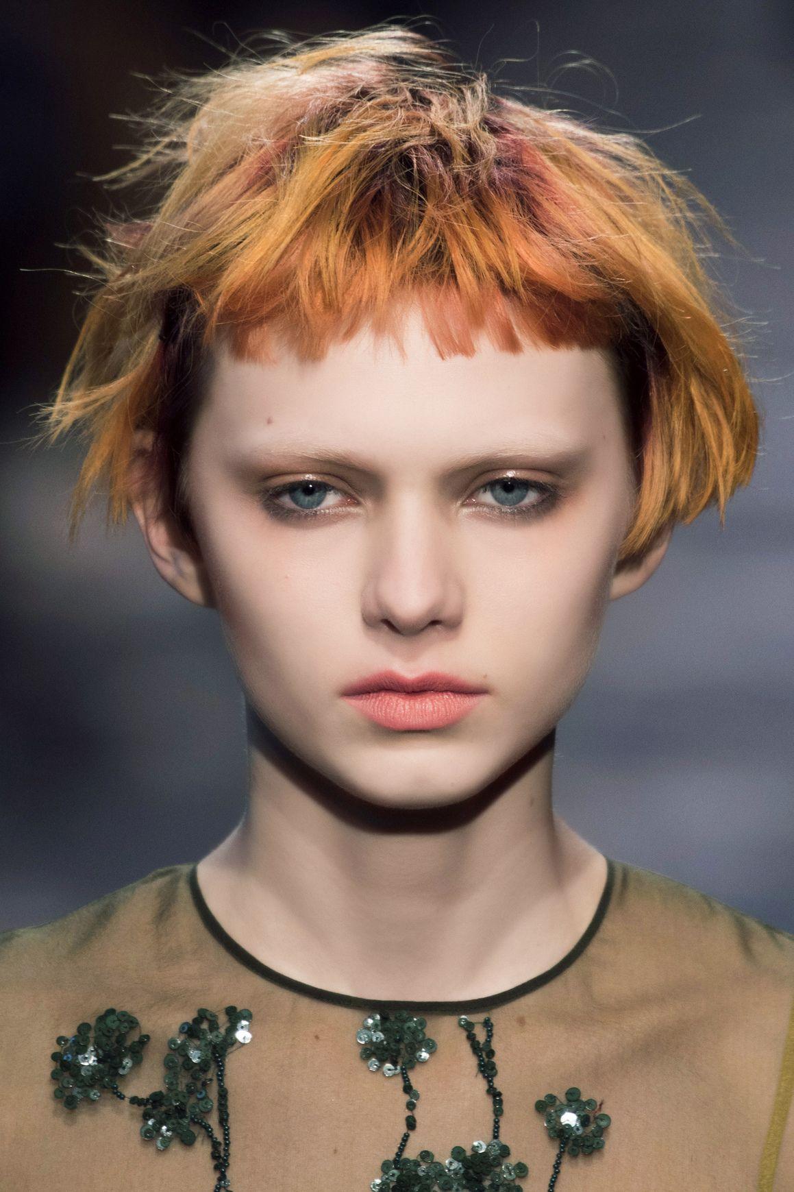 hair cropped short blonde makeup tips bangs crop salad night bloglovin