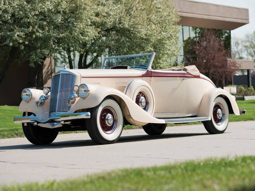 1934 Pierce Arrow Twelve Roadster Classic Cars Roadsters
