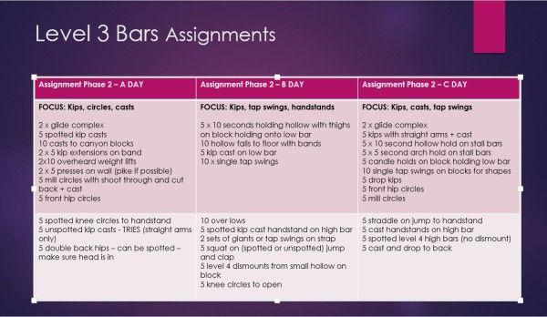 The Complete Compulsory Training Guide Preview And Pre Sale Link Gymnastics Levels Gymnastics Conditioning Gymnastics Bar