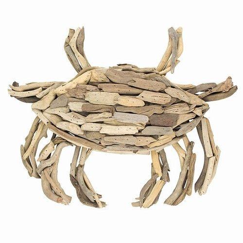 Driftwood Crab -- Large Wall Decor | Seafood restaurant, Driftwood ...
