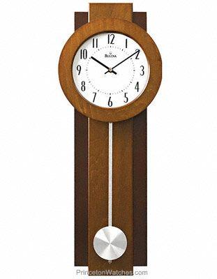 avent modern pendulum wall clock dual finish