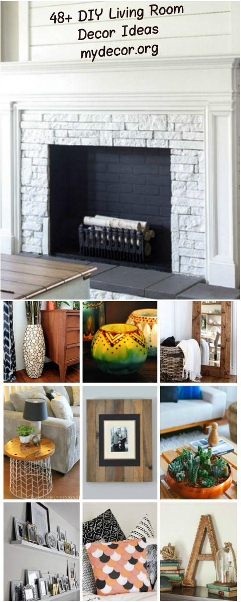 48 Inspiring DIY Living Room Decorating Ideas