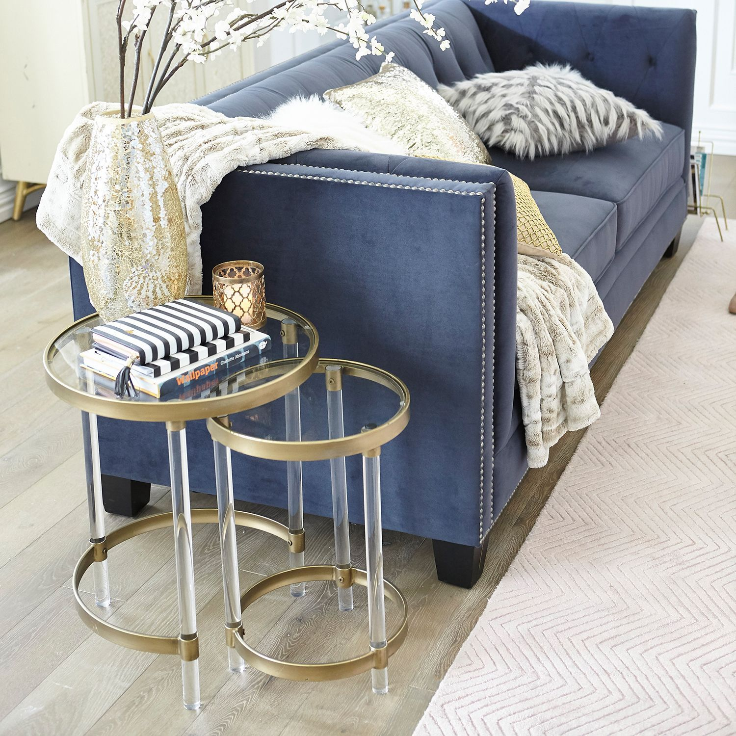 Acrylic Nesting Tables Set of Two | Pier 1 Imports ...