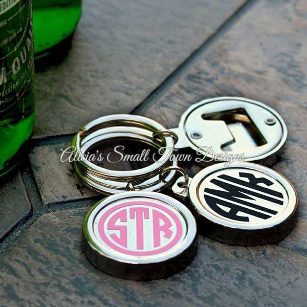 Personalized Bottle Cap Bottle Opener Key Ring Custom Bottle Opener Personalized Keychain Personalized Bottles