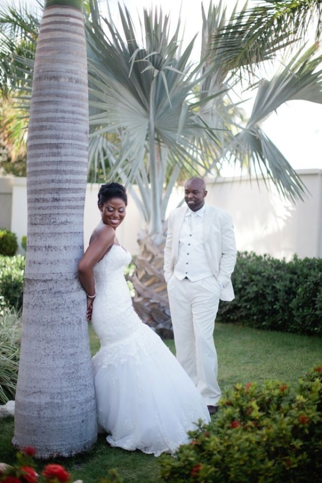 Maarten Destination Wedding Beautiful Black Canadian Head To The West Ins For An Intimate Evening Ceremony