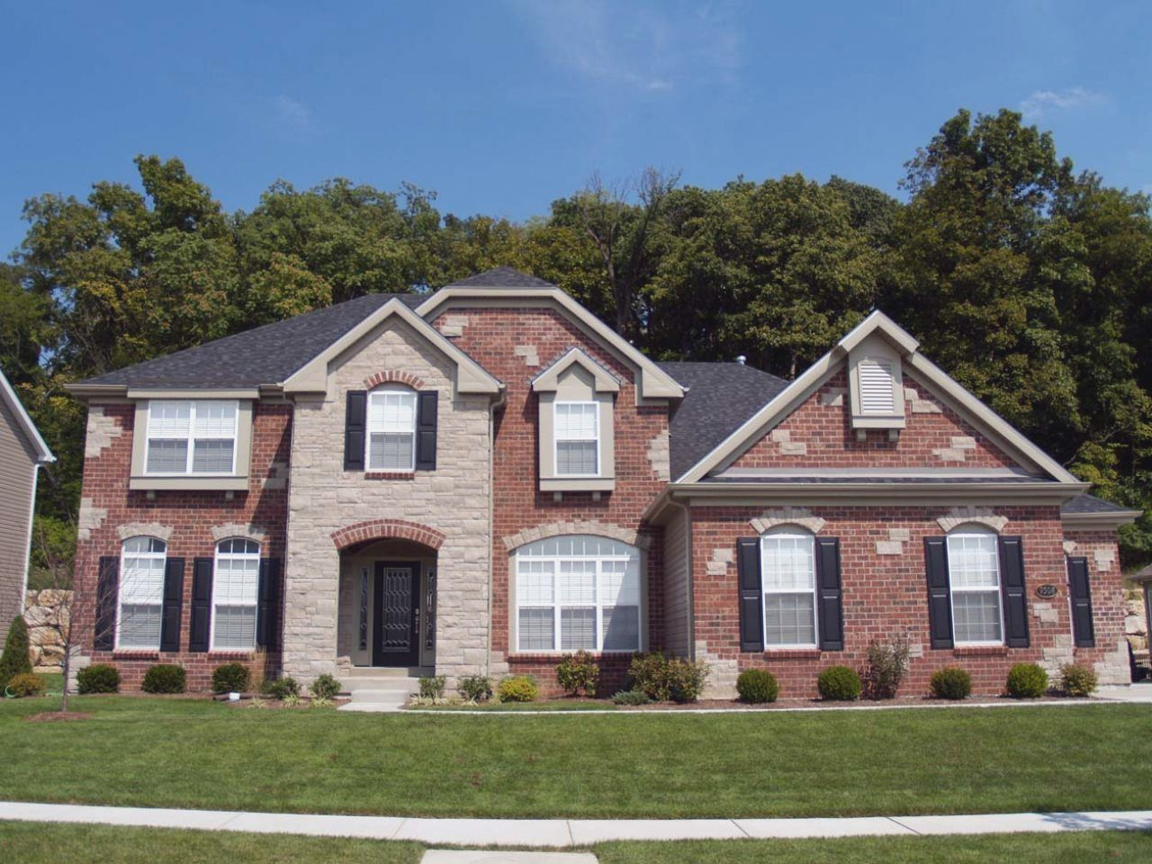 Exterior colour schemes for brick houses exterior colour scheme - Simple Image Result For Roof Colors For Red Brick House White Windows With Red Brick House Colour Scheme Good Home Exteriors
