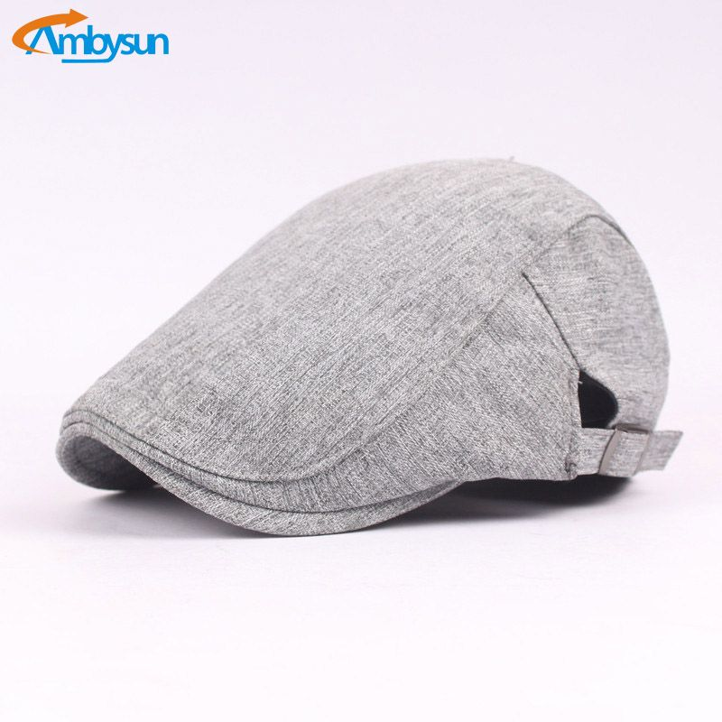 Find More Berets Information about Soft Cotton Newsboy Flat Cap Ivy ...