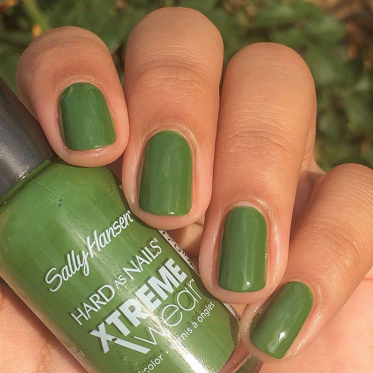 Sally Hanse Green Thumb | Amazing Nail Polish | Pinterest
