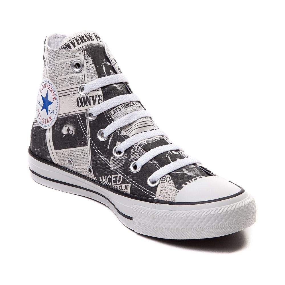 9ff0e642fc8dae Converse All Star Newspaper Hi Sneaker