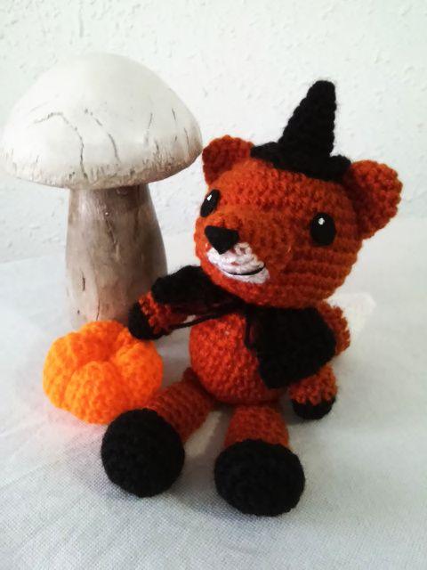 patron gratuito zorro amigurumi crochet fox english pattern | cosas ...