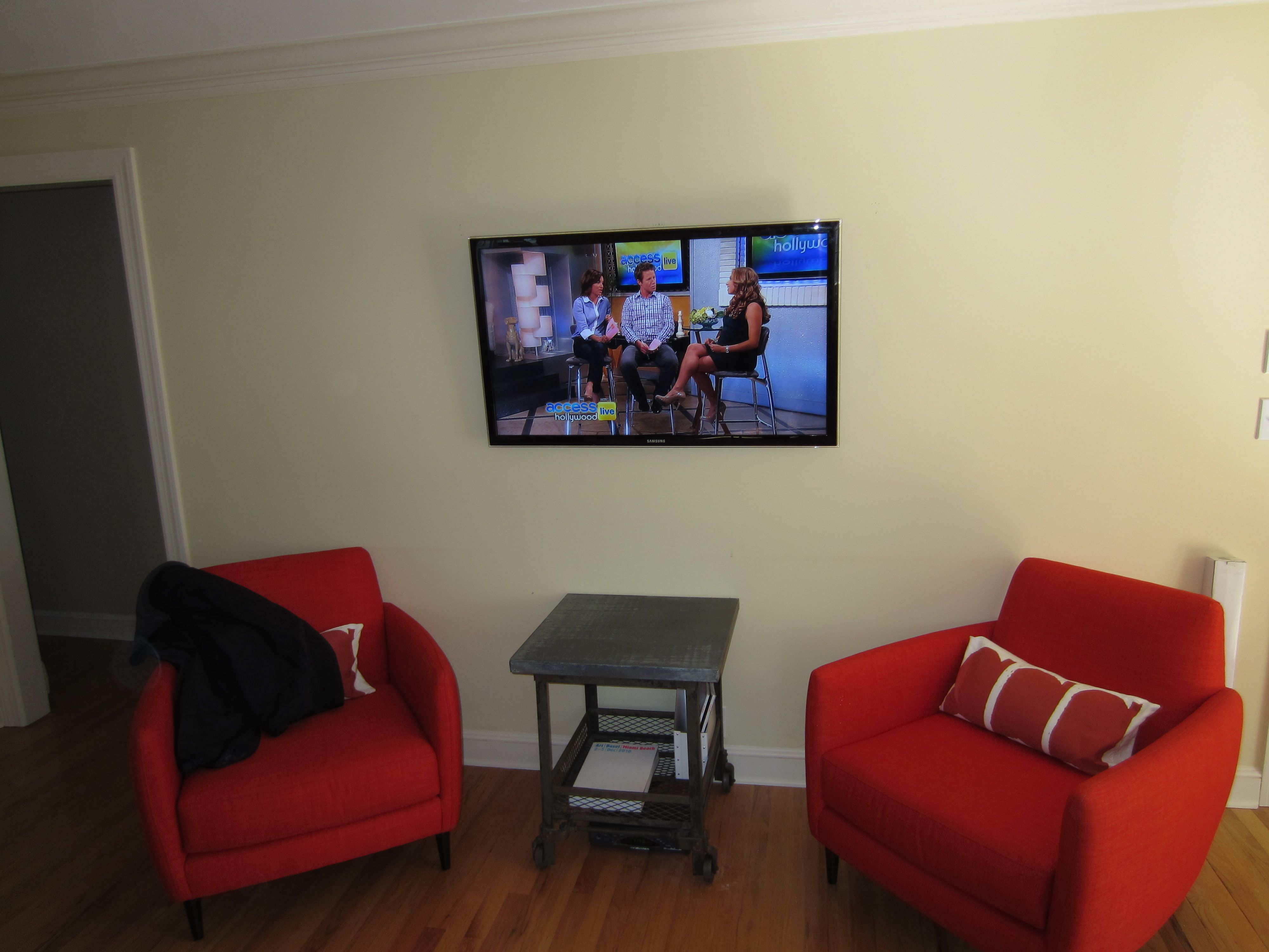 Fairfield Ct Mount Tv On Wall Richey Group Llc Audio Video Experts Living Dining Room Home Theater Installation Mounted Tv