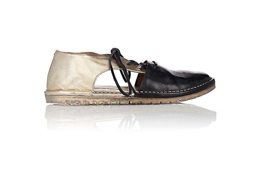 sale new styles Marsèll Leather Cutout Oxfords enjoy online y9vjk0Ofsz