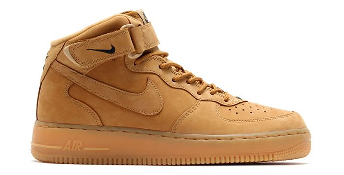 """Nike Air Force 1 Mid """"Wheat"""" is Coming Back in 2019 