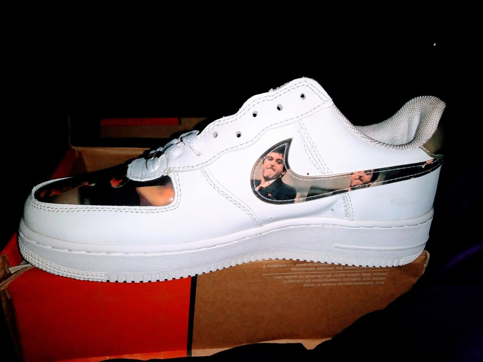 NIKE AIR FORCE 1 SCARFACE size 9 rare