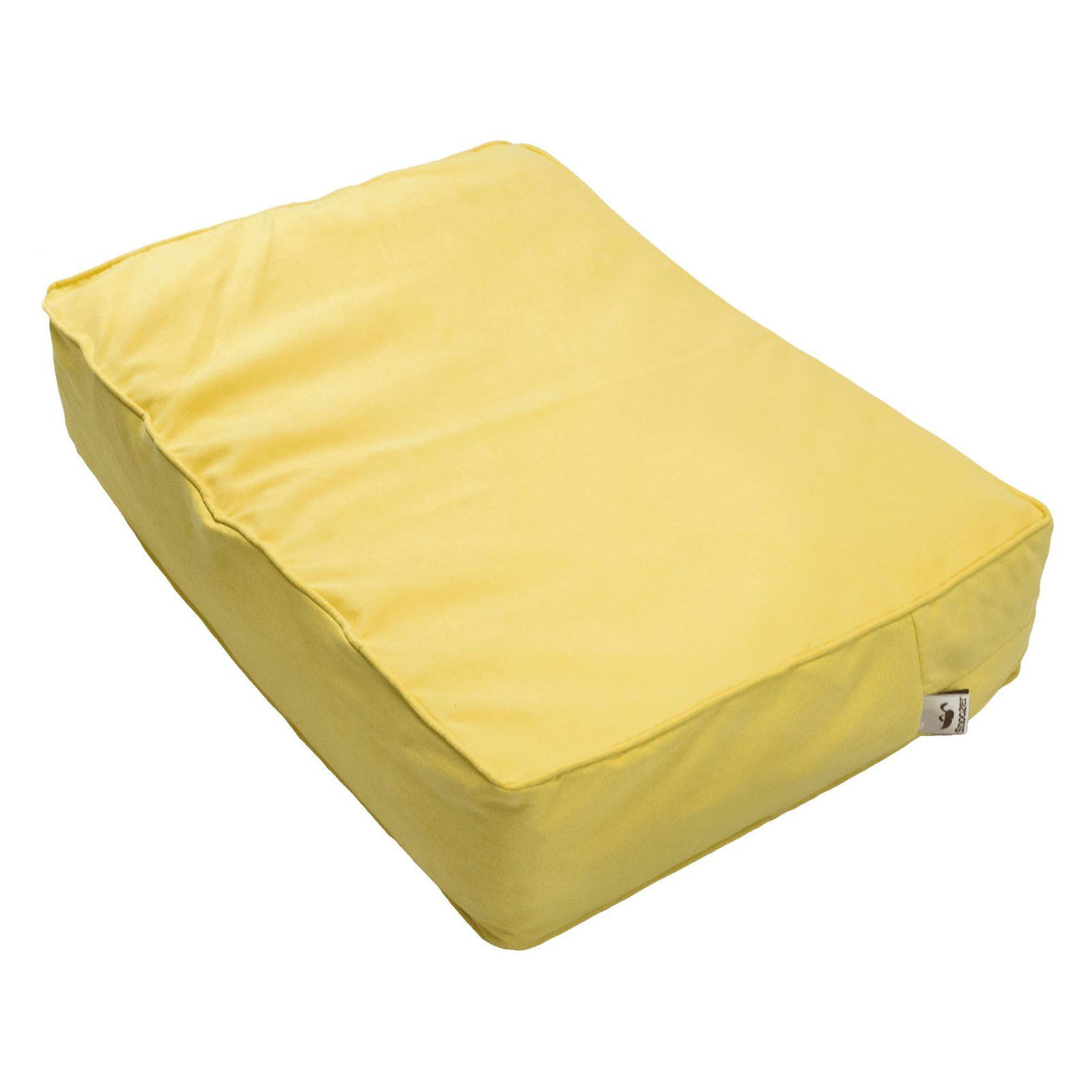Snoozer Outlast Dog Bed Sleep System 5 In Thick Lemon Dog Bed