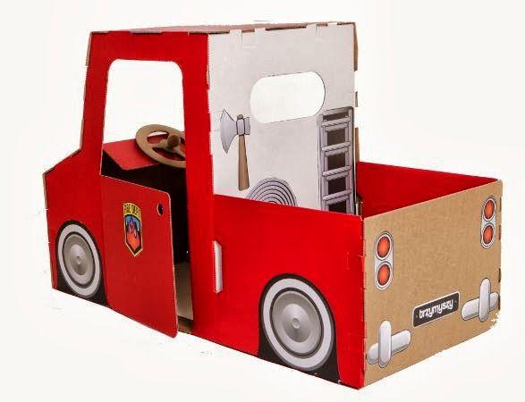 12 Ideias Brinquedos Feitos Caixa Papelao Reciclagem Atividade