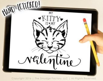 My First Valentine's Day SVG Cut File by TheSmudgeFactoryLLC