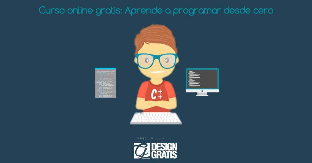 Curso online gratis: Aprende a programar desde cero