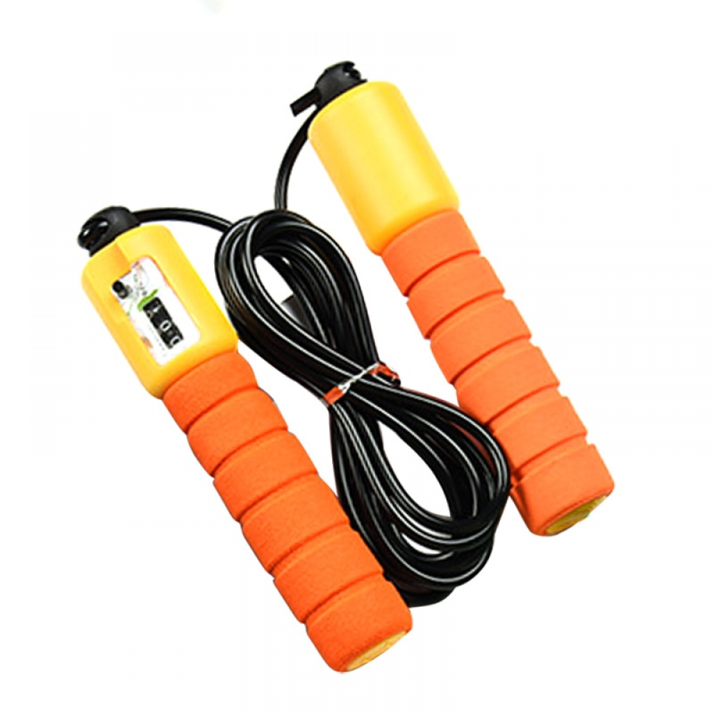 Skipping Rope With Counter Jump Speed Fitness Exercise Workout Training Skip