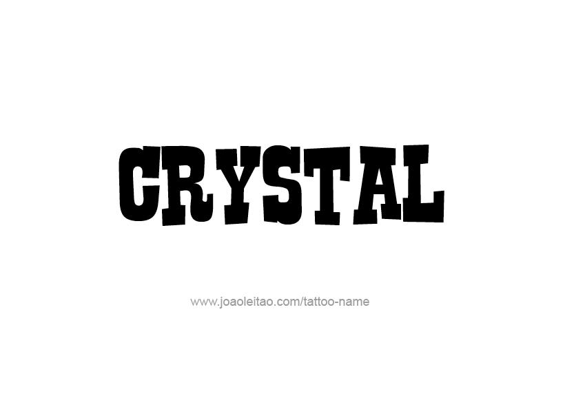 Crystal Name Tattoo Designs Name Tattoo Designs Name Tattoos Name Tattoo