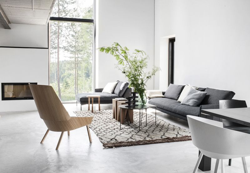 Maja by deko inside outside pinterest living rooms grey and rust for Moderne badkamer deco ideeen